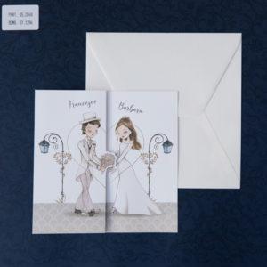 Invito presenza matrimonio