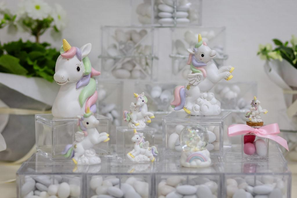 bomboniera,comunione,bomboniera,sacchetti,scatoline giorni lieti Grosseto,unicorno,arcobaleno